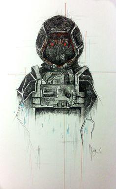 Simon Jarrett- Robot- Soma  by HeatheRach95