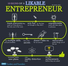 10 Signs of a Likable Entrepreneur