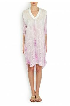 Petworth Python Print Silk Tunic - Dresses - Clothes - London-Boutiques.com