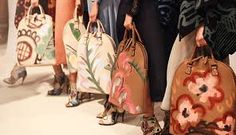 Image result for burberry painted handbags