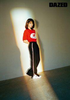 180506 IU for Dazed X New Balance Korea Interview. Korean Fashion Trends, Korea Fashion, Kpop Fashion, Fashion Photo, Fashion Outfits, Fashion Tips, Fashion Styles, Debut Photoshoot, Korean Photoshoot