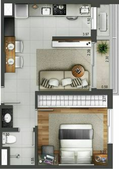 Great floor plan layout