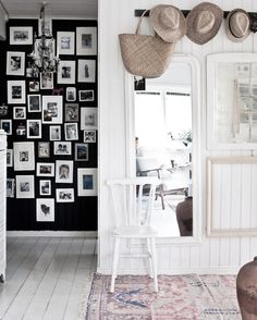 Landing in the relaxed, bohemian country home of Johanna Flyckt Gashi.