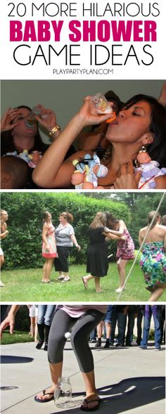 20 More Hilarious Baby Shower Games - Play.Party.Plan