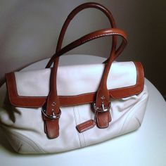 Coach Leather Bag - $56