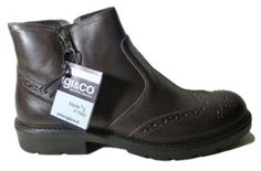 Low boots for men, made in Italy by Igi&Co