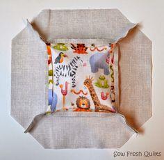 Sew Fresh Quilts: Kansas Dugout Quilt Block and Y Seam Tutorial