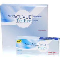 1-Day Acuvue TruEye  1-day Acuvue TruEye is de eerste daglens van Silicon Hydrogelmateriaal. Daardoor laat deze lens meer zuurstof door wat goed is voor de gezondheid van uw ogen. De hydraclear technologie zorgt voor extra zachte en vochtige contactlenzen. 1-Day Acuvue TruEye zijn gekleurd voor eenvoudige hantering en helpen uw ogen te beschermen tegen schadelijke UV stralen van de zon.  Daglenzen kunnen een dag worden gedragen en moeten na elk gebruik worden weggegooid. Volg altijd de…
