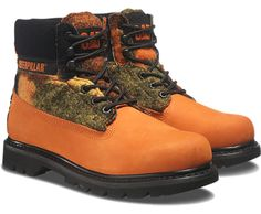 Men's Colorado boot in Red Orange Multi for #AW15 #catboots #OnlineExclusive