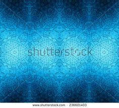 dark seamless glowing reflecting pattern. monochrome background.  blue colors.