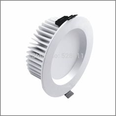 Bathroom Ceiling Light Cover Replacement aluminum housing ip65 smd led downlights white/black heatsink