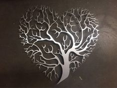 Tree Heart Metal Wall Art Tree Metal Wall Art Unique Wall