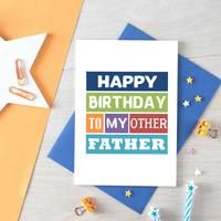 Stepfather Birthday Card | Other Father | SE0142A6 – SixElevenCreations