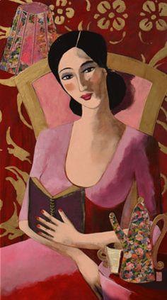 Marie Godest - La Lectrice