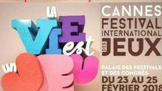 FESTIVAL DES JEUX DE CANNES 2018 Palais Des Festivals, Cannes, Drink Sleeves, Gaming
