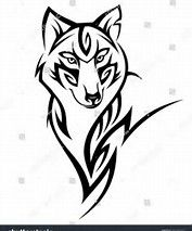 Image result for Tribal female Wolf Face