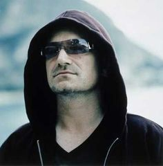 Arrogant but I love Bono (with the rest of U2 also), so there.