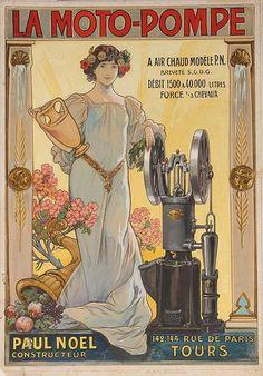 Art Nouveau poster  Art & Vintage