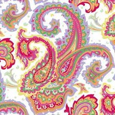 Love paisley prints!: