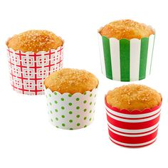 Just in time for Christmas! Go beyond the muffin tin with our gorgeous Baking Cups.