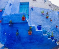 Moroccan Blue Paint