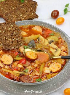 Soup Recipes, Healthy Recipes, Polish Recipes, Aga, International Recipes, Paella, Food Inspiration, Thai Red Curry, Good Food