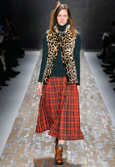 Tartan-à-Porter - Blugirl Fall Winter 2013/2014 Fashion Show Collection #mfw