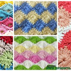 Crochet Radial Increased Stitches Free Patterns & Instructions