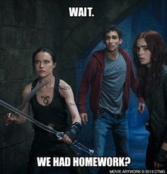 Wait. We had homework?