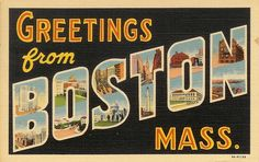 Boston, you're my home.