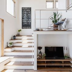 Modern Staircase Design Ideas - Search photos of modern staircases and find design and format ideas to influence your own modern staircase remodel, consisting of unique barriers and storage space . Source by zacklazovsky fashion idea Interior Stairs, Interior Architecture, Room Deco, Staircase Remodel, Modern Staircase, Staircase Ideas, House Stairs, Modern Interior Design, Home And Living