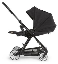 Mamas and Papas Urbo Elite - All Black Mamas And Papas, Stylish Baby, Prams, Kid Styles, Baby Gear, All Black, Children, Kids, Baby Strollers