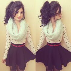 Loving this black skirt from @junejulymelrose @junejulymelrose @junejulymelrose | get ... | Use Instagram online! Websta is the Best Instagram Web Viewer!