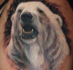 46 Tribal Polar Bear Tattoo