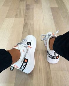 Shop Air Force 1 Low 07 PRM Just Do It Nike on GOAT. We guarantee authenticity on every sneaker purchase or your money back. Hype Shoes, Women's Shoes, Me Too Shoes, Shoes Sneakers, Yeezy Shoes, Aldo Shoes, Baby Shoes, Girls Sneakers, Shoes Style