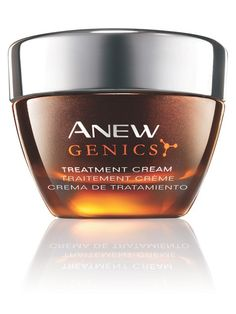 AVON Genics Treatment Cream - one of the newest and best additions to the ANEW line! www.youravon.com/jwayland
