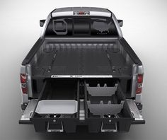 Decked Truck Bed Storage System on http://www.gearculture.com