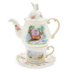 Alice in Wonderland Tea-for-One Set