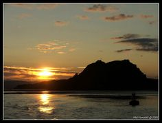 Dumbarton Rock from the Clyde - Dumbarton, West Dunbartonshire