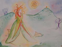 Fêter Imbolc : la naissance de la déesse Brigit
