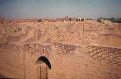 Ruinas de Babilonia en 1975