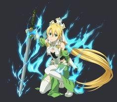 Leafa Sao, Anime High School, Twin Star Exorcist, Sword Art Online Wallpaper, Master Sword, Manga Art, Naruto, Alice, Calendar