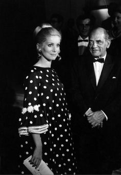 24hoursinthelifeofawoman — Catherine Deneuve and Luis Bunuel, at the Venice...