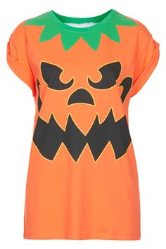"""Halloween is the one day of the year you can wear as much orange as you want, without timidly asking your friends, """"Does this make me look like a pumpkin?"""" If you look like a pumpkin, you're doing something right. Material Girls, My Wardrobe, Asos, Topshop, Crop Tops, Pumpkin, Orange, Halloween, My Style"""