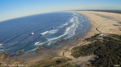 An Arial view of Stockton Beach, Anna Bay end- Have you been for a visit? Find out what you can do on the of dunes. Stockton Beach, And So The Adventure Begins, The Dunes, South Wales, Paddle Boarding, Rock Climbing, Beautiful Beaches, Mountain Biking, Kayaking