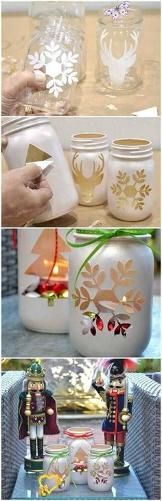 41  Kid-friendly DIY Christmas Crafts You Need To Try Now! - Sharp Aspirant  <br> These adorable DIY Christmas crafts are super fun, easy to do, and very kid-friendly! You absolutely need to make them right now! Handmade Christmas Crafts, Homemade Christmas, Christmas Projects, Christmas Fun, Holiday Crafts, Christmas Decorations, Christmas Pictures, Wedding Decorations, Christmas Quotes