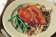 Succulent tender pork is a great choice with cranberries and brown rice. This gluten-free meal is perfect for weeknights or special occasions.