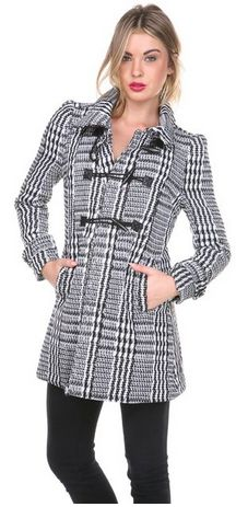 cute, stylish coat! Women's Toggle Coat On Sale - A Thrifty MOm