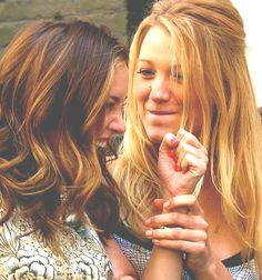 no one does best friends quite like Serena and Blair
