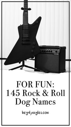 Love rock music and looking for a bad-ass rockstar dog name? Check out our list of 145 rock and roll dog names for some rockstar dog name inspiration! Dog Names Male, Girl Dog Names, Puppy Names, Pet Names, Dog Enrichment, Rocker, Girl And Dog, Dog Quotes, Dog Training Tips